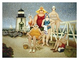 Strandurlaub Kunstdrucke von Lowell Herrero
