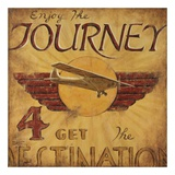 Enjoy The Journey Prints by Janet Kruskamp