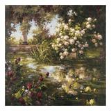 Juliet's Garden III Prints by  Gabriela