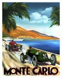 Monte Carlo Plakater af Chris Flanagan