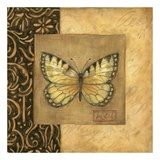 Butterfly Square Print by Susan Winget