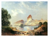An Indian Paradise Posters by Thomas Moran