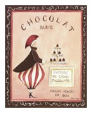 Chocolat, Paris Posters by Katharine Gracey