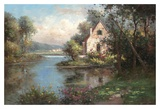 Enchanting Chateau Prints by Hilger