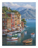 Villagio del Porto Posters by Sung Kim