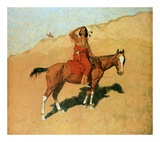 The Scout Posters by Frederic Sackrider Remington