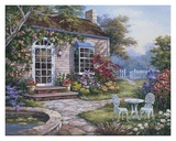 Spring Patio I Prints by Sung Kim