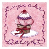 Cupcake Delight Prints by Janet Kruskamp