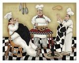 Kitchen Kapers I Print