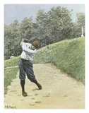 Bunkered Art by Arthur Burdett Frost