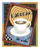 Espresso de Cafe Prints by Betty Whiteaker