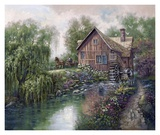 Willow Creek Mill Posters by Carl Valente