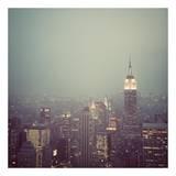 Manhattan, New York Posters par Irene Suchocki