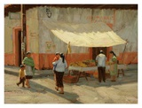 Patzcuaro Morning Print by Roger Williams