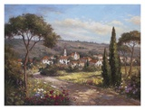 Garden View Prints by  Hilger