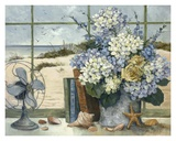 Beach Cottage Prints by Barbara Mock