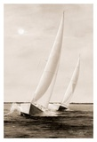 Blue Sails Prints by Diane Romanello