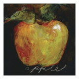 Green Apple Print by Nicole Etienne