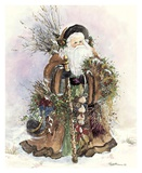 Santa's Bounty Prints by Peggy Abrams