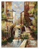 Venice Canal II Print by Peter Bell