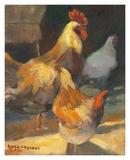 Rooster II Prints by Allayn Stevens