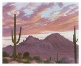 Camelback And The Praying Monk Prints by Ann Mcleod