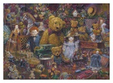 Toys in the Attic Art by Stewart Sherwood