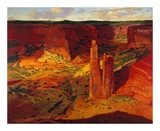 Evening, Canyon de Chelly Poster by Paul Davis