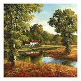 The Cottage Art by Peggy Corthouts