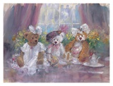 Teddy Bear Tea Party Posters by Stewart Sherwood