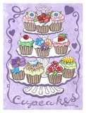 Cupcakes Prints by Janet Kruskamp