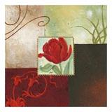 Tulip Square III Plakat af Maria Woods