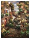 Courtyard Garden Art by  Mauro