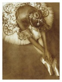 Pointe Print by Joy Goldkind