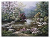 Gazebo Prints by Sung Kim