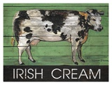 Irish Cream Cow Art by Suzanne Etienne