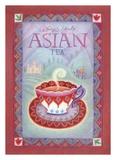Asiatischer Tee Kunstdrucke von Sue Williams
