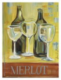 Merlot Prints by Jennifer Sosik
