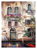 Door to Italy Affiches par Alma Lee