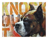 Boxer Prints by Marilyn Kelley