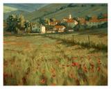 Hillside Village Prints by Roger Williams