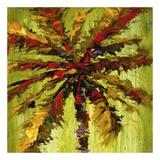 Coastal Palm VI Square Kunst af J. Martin