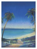 Tropical Path II Print by Fred Fieber