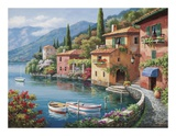 Villagio Dal Lago Posters by Sung Kim
