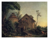 Country Home Poster by Francois Boucher