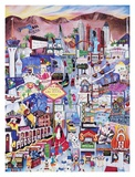 Las Vegas Posters by Linnea Pergola