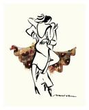 Tango Schokolade Poster von Misha Lenn