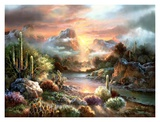 Sunset Splendor Prints by Alma Lee