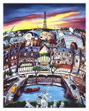 April in Paris Prints by Linnea Pergola
