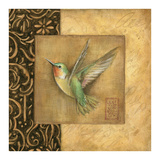 Hummingbird Square Posters by Susan Winget
